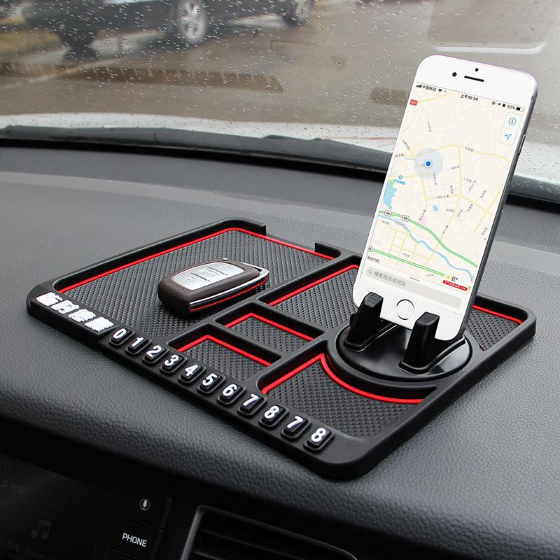 YOULING Đệm chống trơn Xe đa chức năng điện thoại di động khung xe chống trượt pad xe nội thất điều