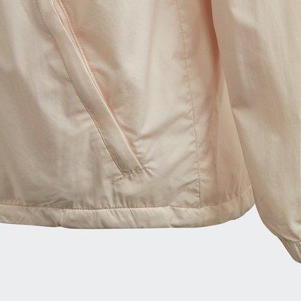 Thị trường trang phục trẻ em  Adidas chính thức Adidas W.N.D. YB trẻ em lớn đào tạo áo khoác dệt ED6
