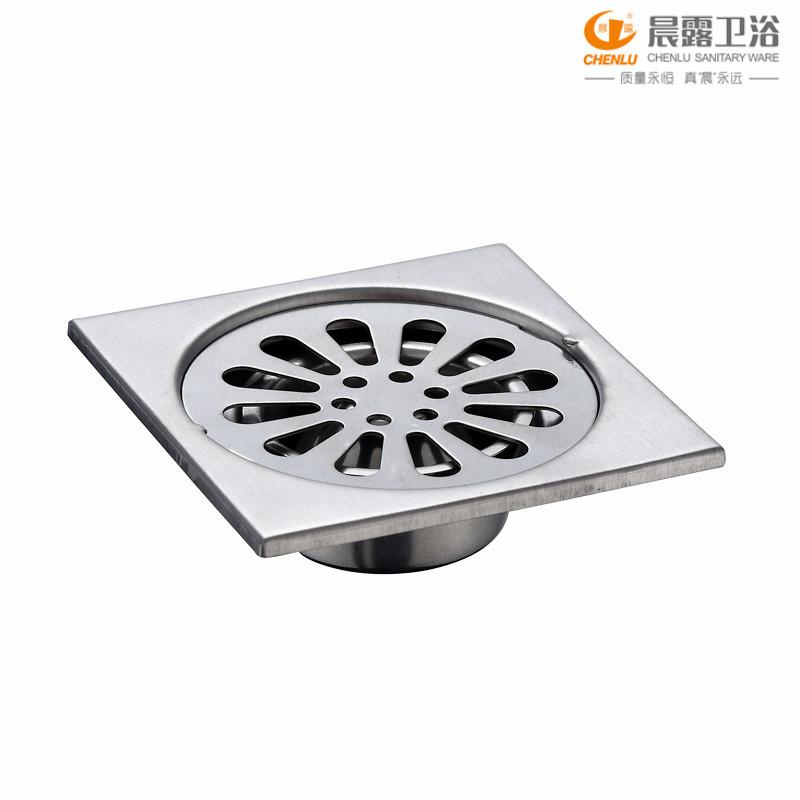 CHENLU cống sàn Xả nước sàn nhà sản xuất 3 inch đơn inox sàn thoát nước khử mùi sàn thoát nước sàn t