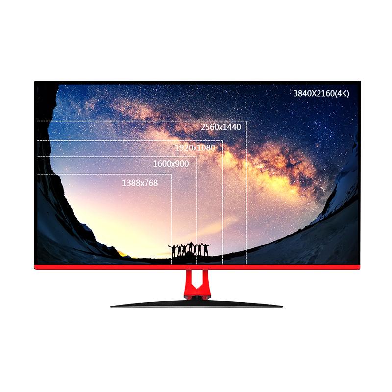 Cnhopestar Màn hình máy tính siêu mỏng 32 inch Màn hình máy tính 4K HD LCD ăn gà không flash màn hìn