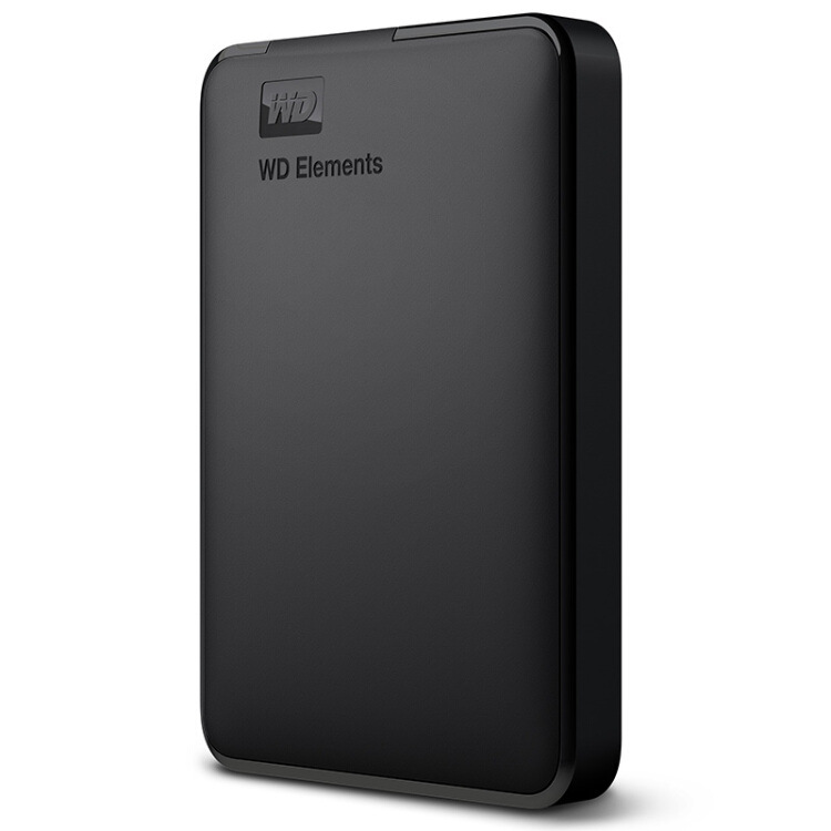 WD Ổ cứng di động 2.5 inch WD Western Digital Elements phần tử mới 1T / 2T / 4T đĩa cứng di động USB