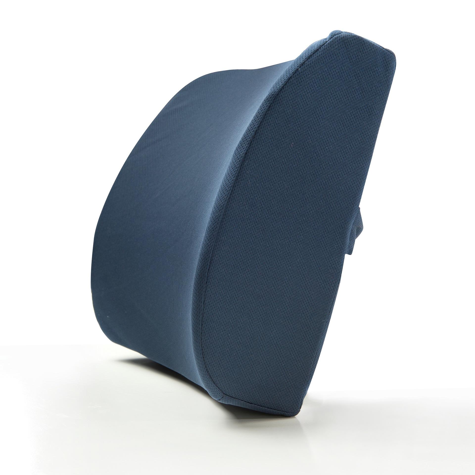Gối tựa lưng Không gian bộ nhớ thắt lưng cotton hỗ trợ thắt lưng dày văn phòng đệm xe thắt lưng hỗ t