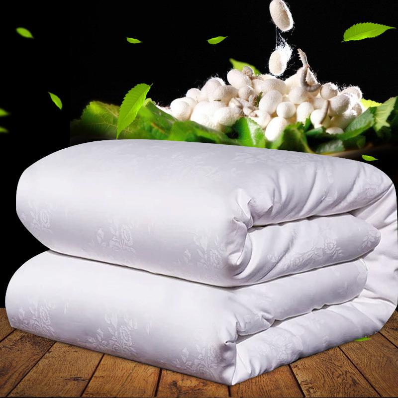 JIAYUGUAN Mền tơ tằm Cotton 80 dâu tằm dày làm ấm lụa tự nhiên mùa đông chăn đặc biệt mẹ công ty mua