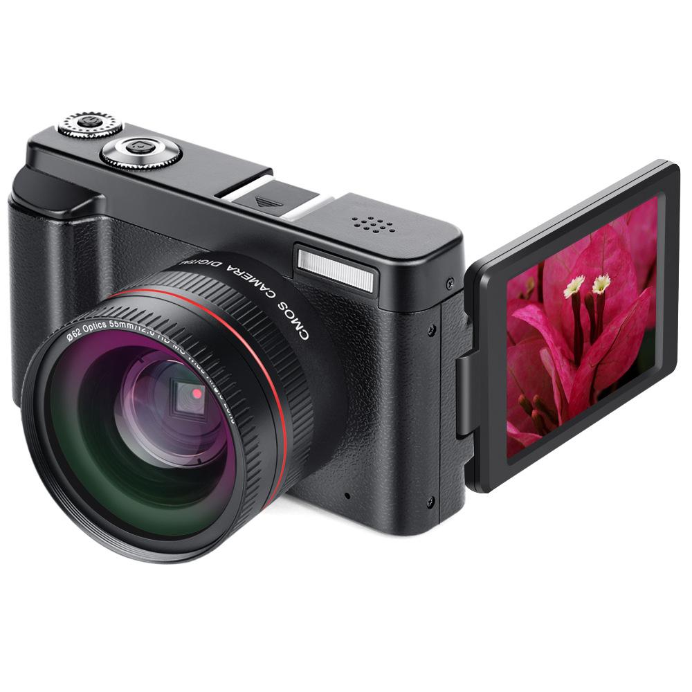 ZHONGXING Máy ảnh kỹ thuật số Máy quay phim kỹ thuật số HD 1080P Camera HD Digital Micro SLR Camera
