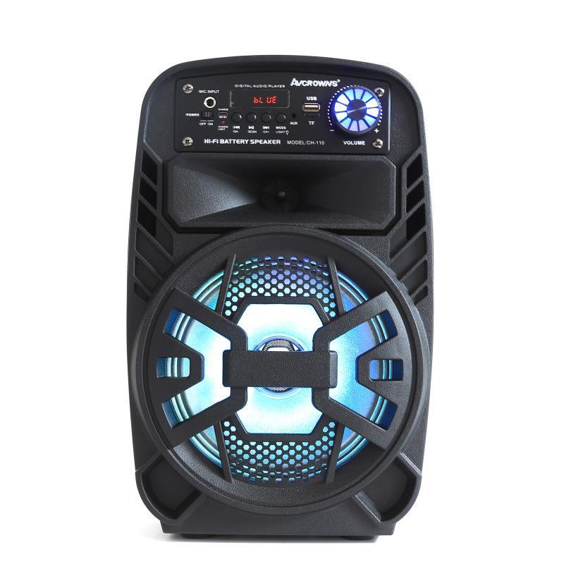 CHUANGHONG Loa Bluetooth Mới di động 8 inch xe đẩy ngoài trời