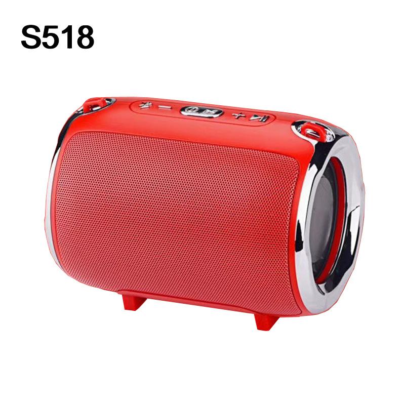 Loa Bluetooth S518 không dây dòng di động đeo vai siêu trầm