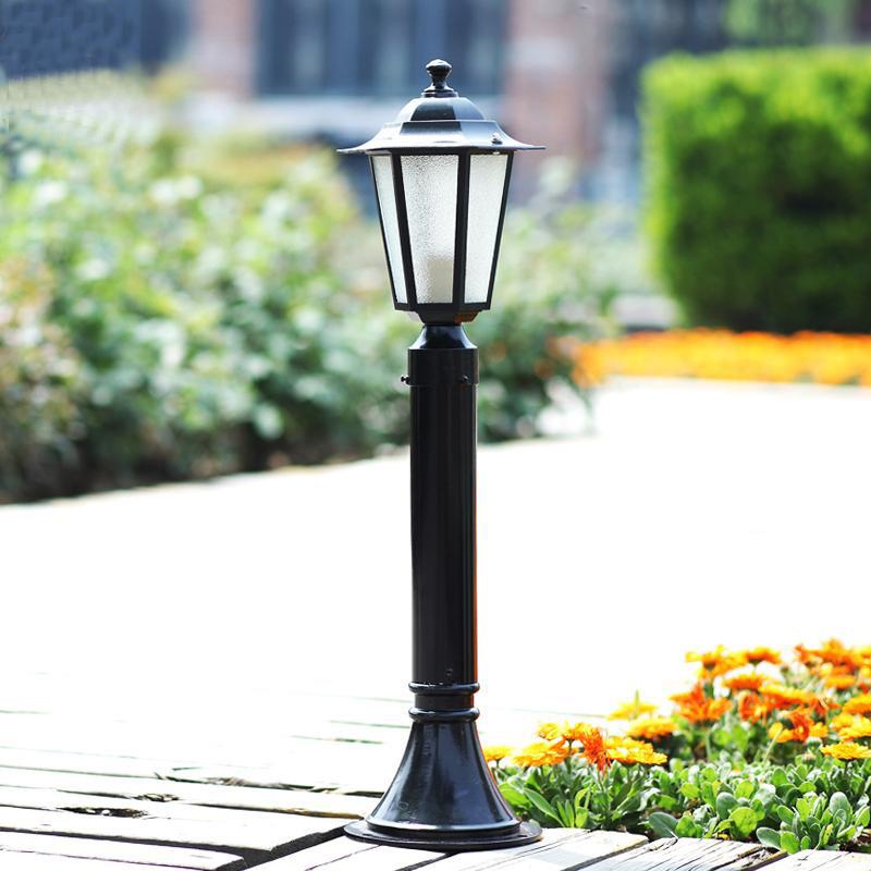 Đèn âm đất Đèn sân vườn sân vườn cỏ đèn đường ngoài trời đèn cỏ châu Âu không thấm nước led cột cảnh