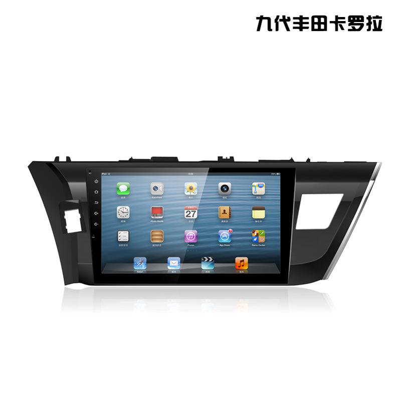Toyota Thiết bị định vị Toyota New Corolla 17 Corolla Ralink Xe chuyên dụng Android điều hướng màn h