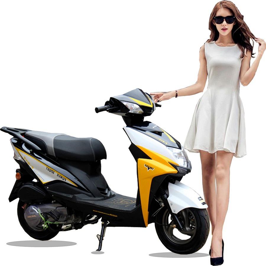 AISHANFEI xe môtô / xe máy Vẫn dẫn đầu xe tay ga 125CC xe máy nhiên liệu rùa nhỏ vua xe máy nam và n