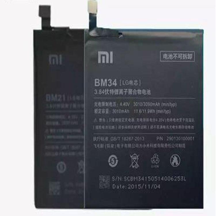 Pin điện thoại Áp dụng cho pin điện thoại di động Xiaomi Pin điện thoại di động BM34 tích hợp pin BM