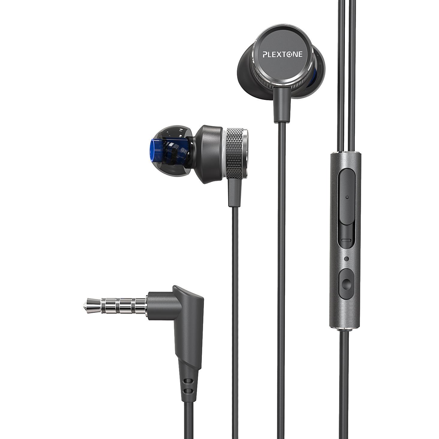 PLEXTONE Tai nghe có dây Pu Ji G15 tai nghe esports dây điều khiển bằng kim loại mới ăn tai nghe trò