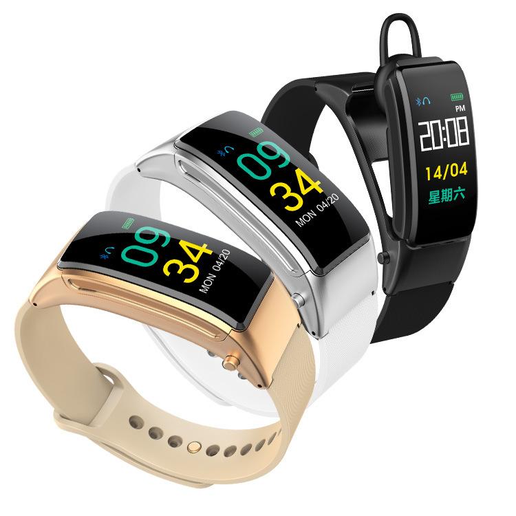 BYM Vòng đeo tay thông minh mới B31 Bluetooth Gọi trực tiếp bằng giọng nói AI 2 trong 1