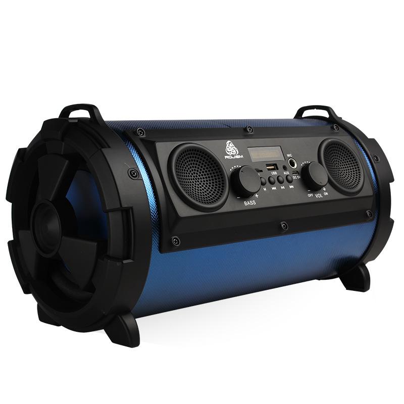Loa bluetooth di động ngoài trời mới Loa siêu trầm 15W đa chức năng