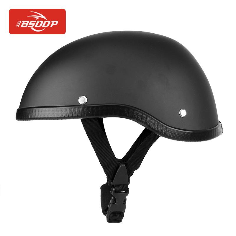 BSDDP Nón bảo hộ Mới xe máy Harley nửa mũ bảo hiểm mùa hè mũ bảo hiểm nam Prince mũ bảo hiểm retro m