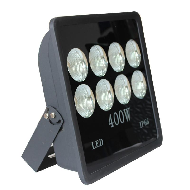 SANCHENG Vỏ chụp đèn chiếu điểm Vật liệu dày tích hợp dọc 400W tập trung tích hợp COB lũ ánh sáng nh