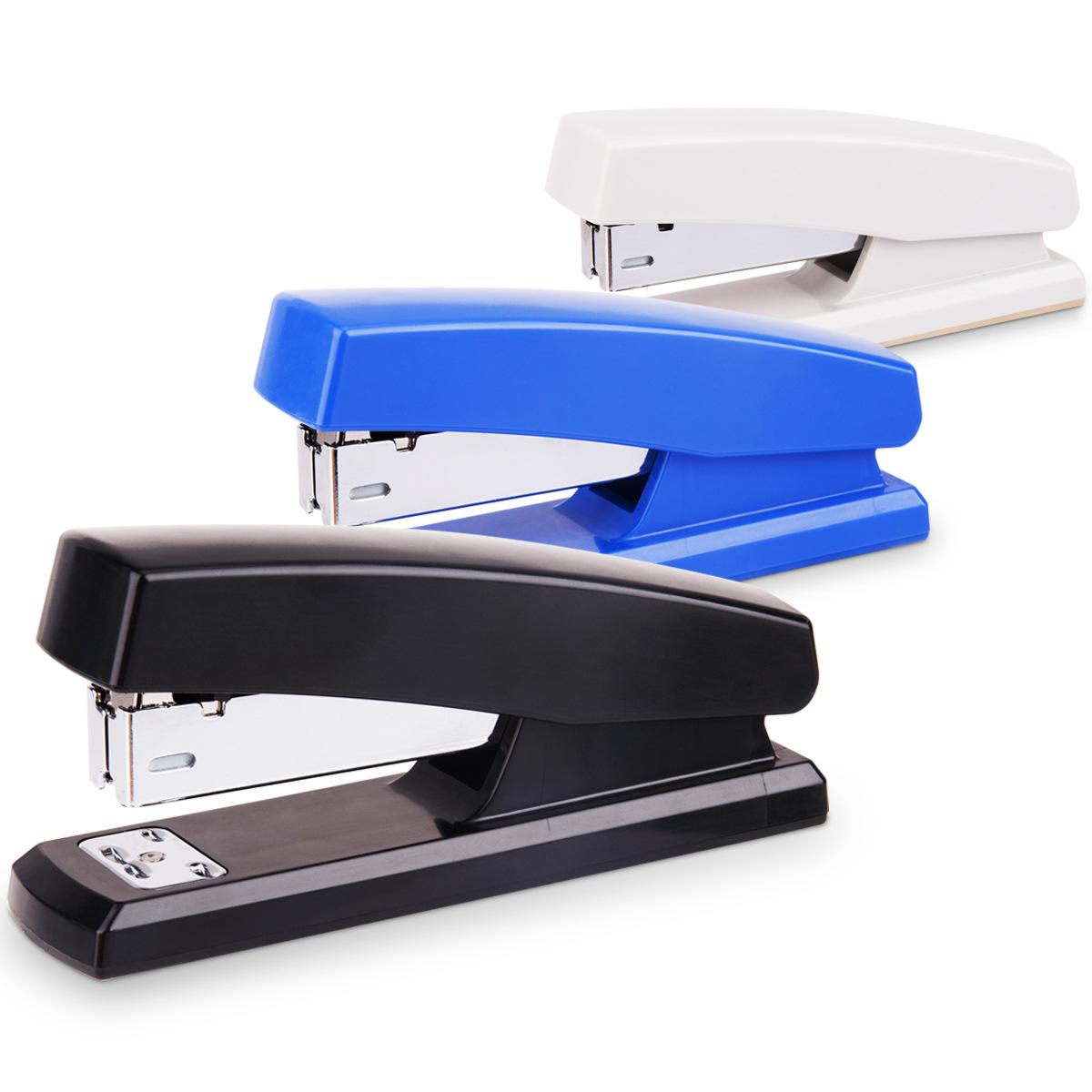 Deli Thị trường Đồ dùng văn phòng 0425 Stapler Văn phòng Stapler 12 Stapler Máy đóng sách dễ dàng Bi