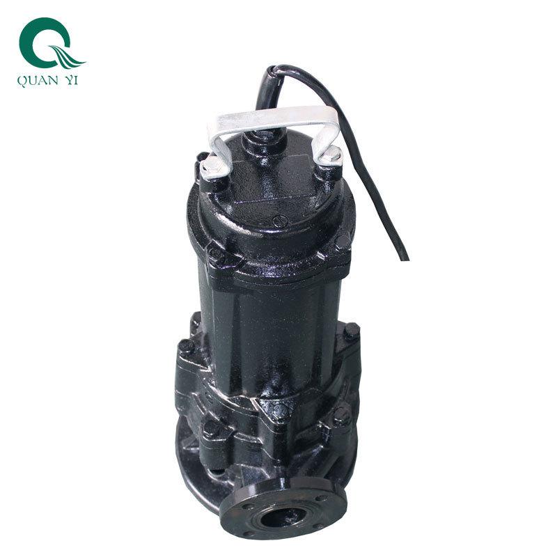 Bơm nước thải, bơm tạp chất cắt chìm 7.5kw - WQG80-15-7.5