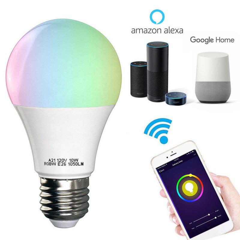 OEM Bóng đèn LED Alexa Voice Control LED Bóng đèn WiFi Không dây WiFi Nhà thông minh Bóng đèn tiết k