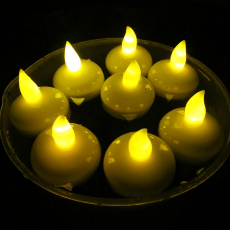 YUELUN Bóng đèn nến Nến nổi nước điện tử nến không thấm nước nến điện tử Các nhà sản xuất nến thương