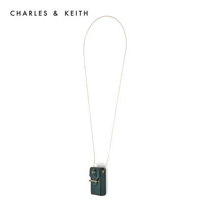 đồ trang trí trang phục  CHARLES & KEITH Vòng cổ CHARLES & KEITH CK5-20700900 Vòng cổ cá tính đính đ