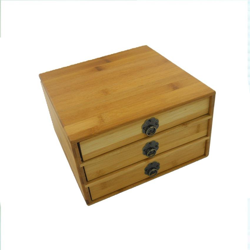 XINYIDA Hộp gỗ Hộp trà tre gỗ hộp trà hộp trà hộp trà hộp trà Pu'er nhà máy trực tiếp