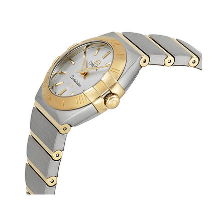 Đồng hồ thông minh  OMEGA Đồng hồ đeo tay nữ Omega Omega Chòm sao chuyển động dây thép Đồng hồ đeo t
