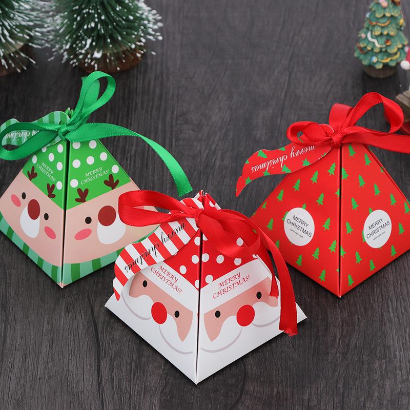 SENSU hộp quà tiệc cưới Hộp kẹo Giáng sinh Hàn Quốc Sáng tạo Hộp quà Giáng sinh S932 Nướng Hộp kẹo n
