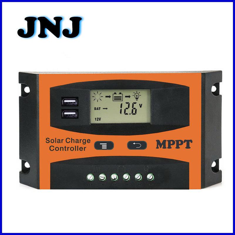 JUNENGJIU Mạch bo Bộ điều khiển năng lượng mặt trời 30A40A50A60A Bộ điều khiển năng lượng mặt trời M