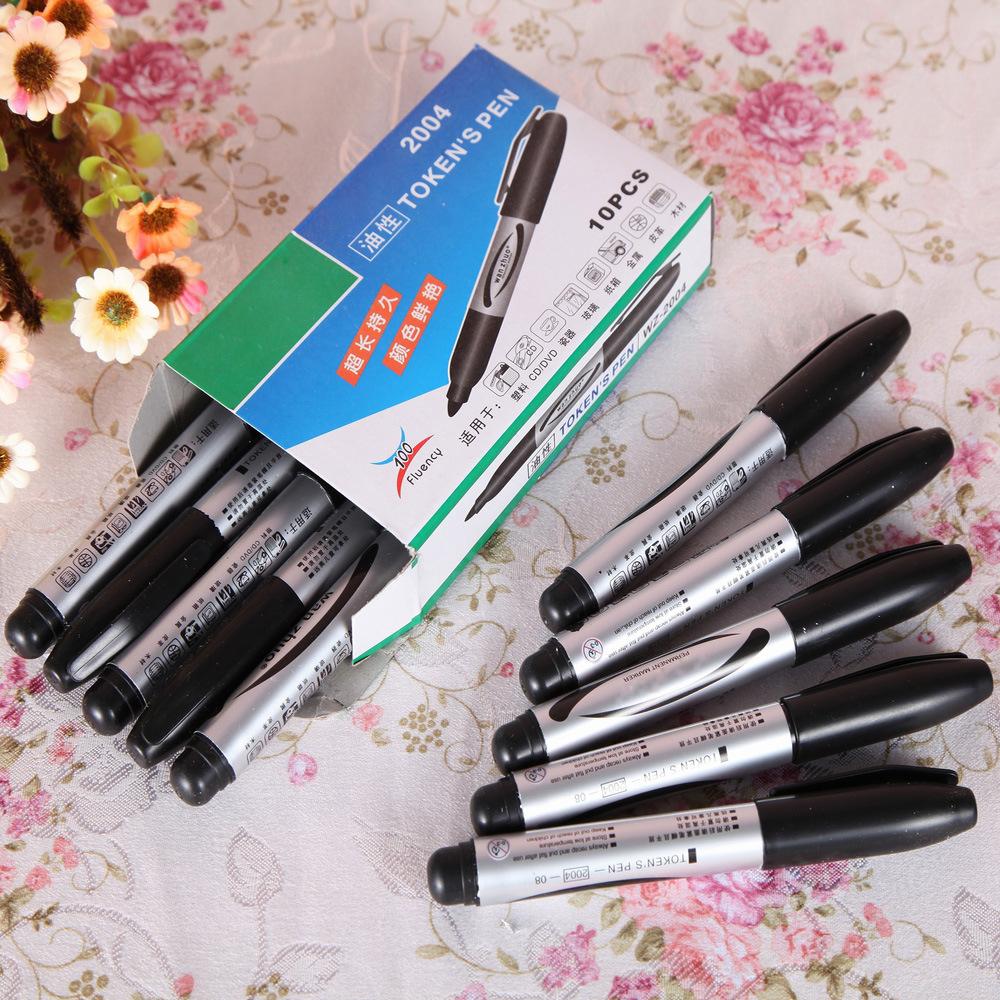 Bút dạ quang Chất lượng cao bút đánh dấu mịn nhà sản xuất bút ký Oily express bút lớn bút quảng cáo