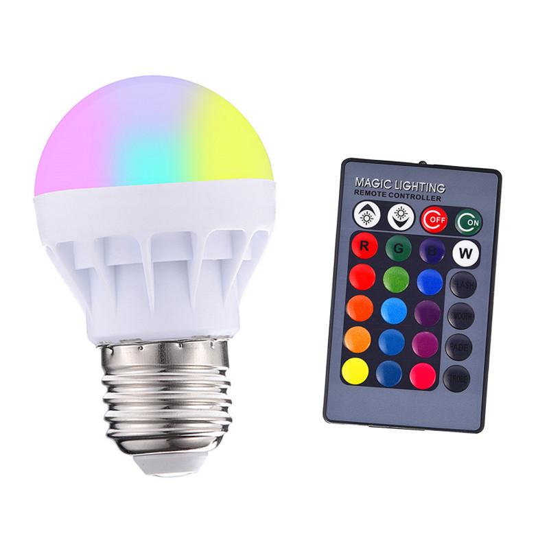 FH Bóng đèn LED Vụ nổ ngoại thương ngoại trừ bóng đèn điều khiển từ xa rgb bóng đèn rgbw đầy màu sắc