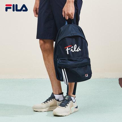 thị trường túi - Vali  FILA Ba lô thời trang nữ chính hãng của FILA Fila 2019 Mùa thu mới đầy màu sắ