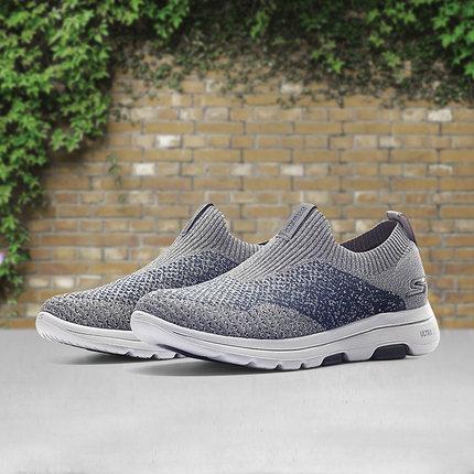 thị trường giày nam Skechers Đôi giày Skechers SKECHER mẫu giày nam nhẹ, giày lười một chân đi giày