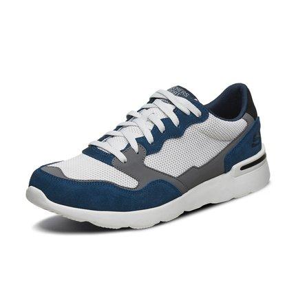 thị trường giày nam  Skechers Skechers 2019 giày nam mới retro khâu giày thông thường dây đeo thời t