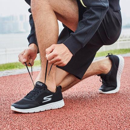 thị trường giày nam  Skechers Giày nam Skechers giày thể thao giày chạy bộ Giày lưới thoáng khí Giày