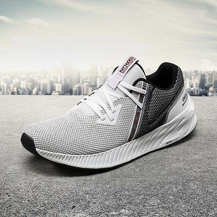 thị trường giày nam  Skechers Giày nam Skechers đệm nhẹ đệm chạy ổn định Giày thoáng khí lưới thể th