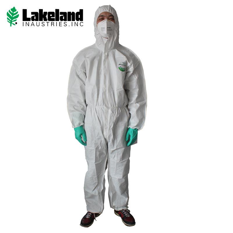 Lakeland Trang phục bảo hộ Quần áo bảo vệ bằng vải không dệt dùng một lần Quần áo chống bụi Xiêm Quầ