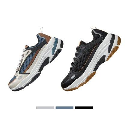 thị trường giày nam Skechers Skechers 2019 mới retro dày đáy tăng giày cũ giày ngoài trời giày nam 5