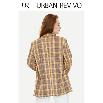 Áo khoác lửng UR2019 mùa thu mới giới trẻ nữ Anh phù hợp với màu sắc kiểu dáng phù hợp với ve áo YU3