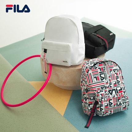 thị trường túi - Vali  FILA Cặp ba lô chính thức của FILA Fila 2019 mới ba lô thời trang sinh viên M