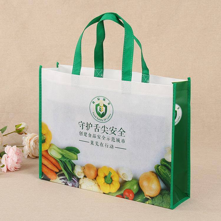 Túi vải không dệt Nhiều lớp không dệt túi tùy chỉnh quảng cáo quà tặng mua sắm túi tùy chỉnh logo tr