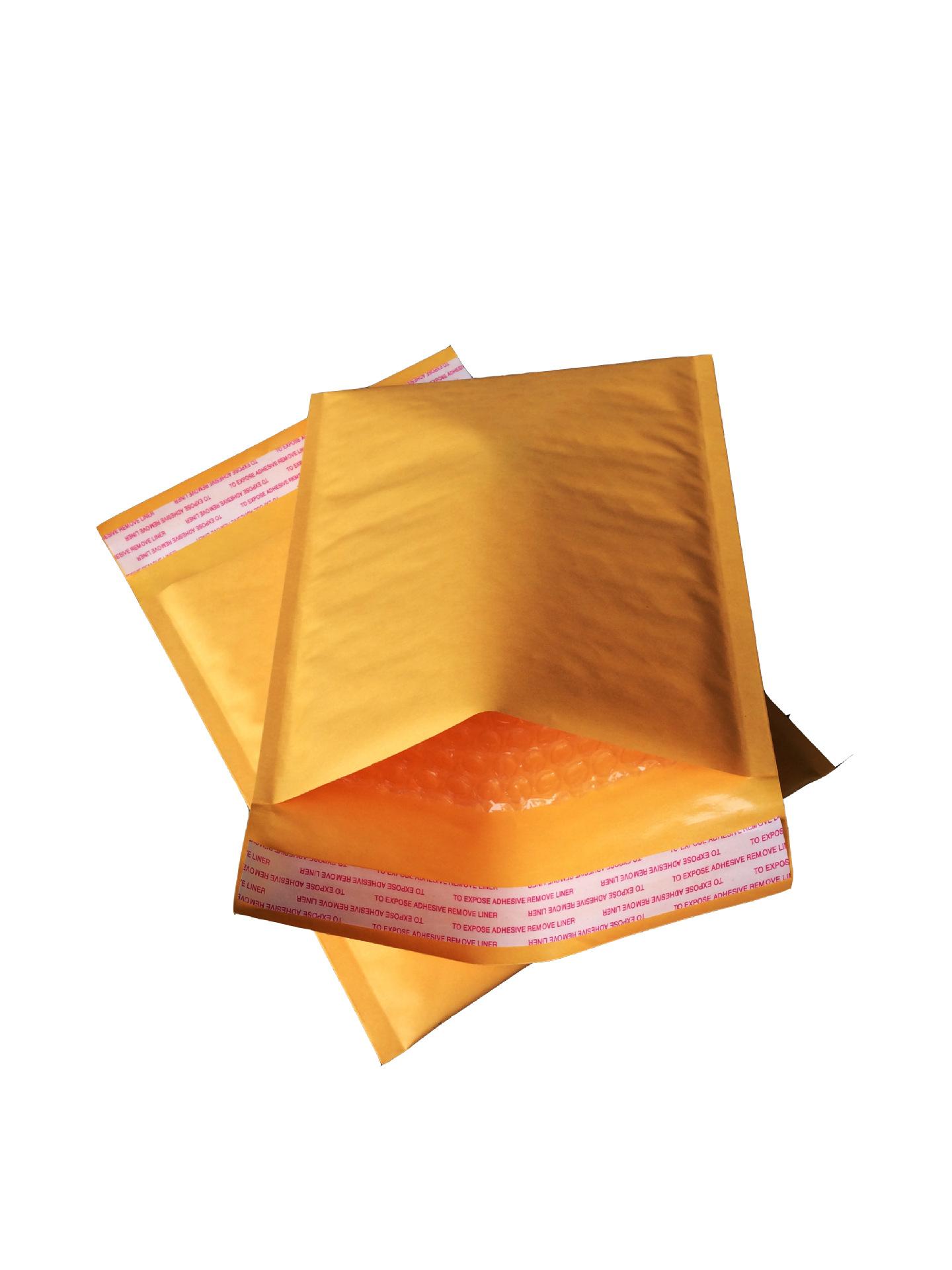 bao thư chống sốc 11 * 10 phong bì bong bóng giấy kraft 110 * 100 + 40 bông tai trang sức xuyên biên