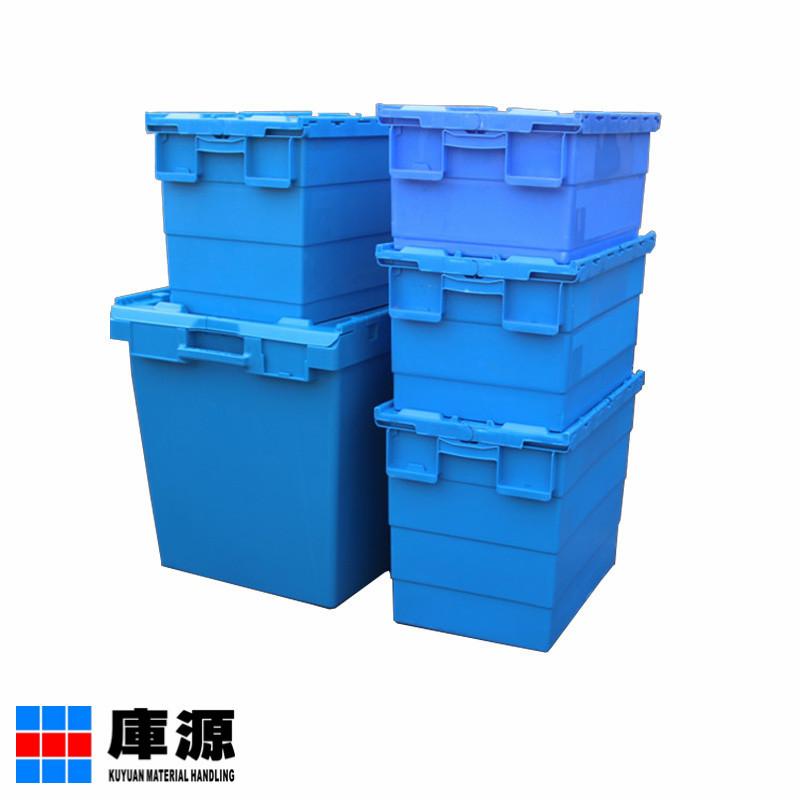 KUYUAN Thùng nhựa Nhà máy trực tiếp xiên hộp nhựa hộp doanh thu hộp công cụ với bìa tươi phân phối d