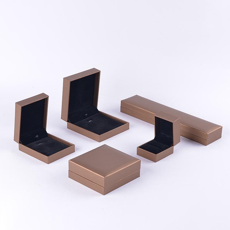 Hộp trang sức Cao cấp hộp trang sức hộp lưu trữ hộp vòng cổ vòng đeo tay vòng đeo tay mặt dây chuyền