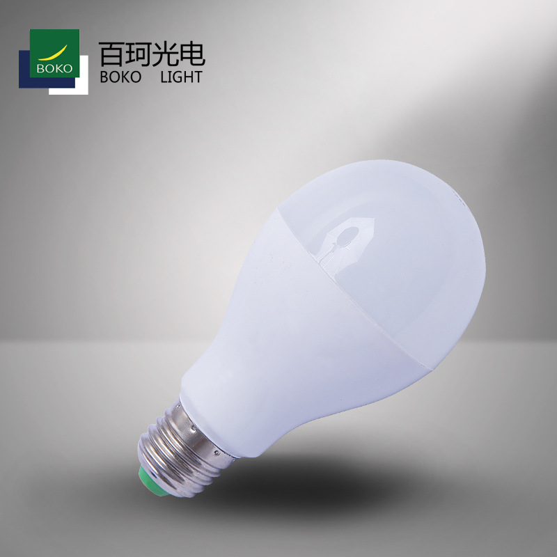 BAIKE Bóng đèn LED Ánh sáng Vi sóng Radar Cảm biến Bóng đèn Con lắc Gian hàng Năng lượng siêu sáng E