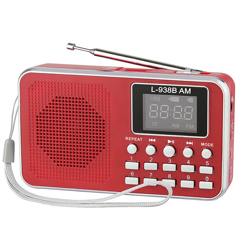 Máy Radio đi kèm với đài phát thanh Kinh Thánh L-938B Đài phát thanh MP3