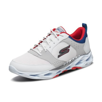 thị trường giày nam  Skechers Giày nam Skechers SKECHER đệm nhẹ giày chạy bộ Giày lưới thoáng khí Gi