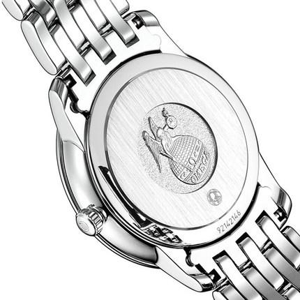 Đồng hồ thông minh OMEGA Đồng hồ nữ Omega đĩa bay loạt Quartz chuyển động với kim cương thời trang
