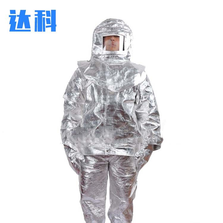 DAKE Trang phục chống cháy bằng nhôm cách nhiệt