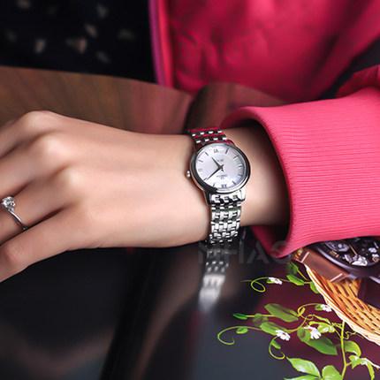 Đồng hồ thông minh  OMEGA Đồng hồ Omega Spot Nữ Đồng hồ nữ Omega-Disc Fly Series Quartz 2424.10.27.6