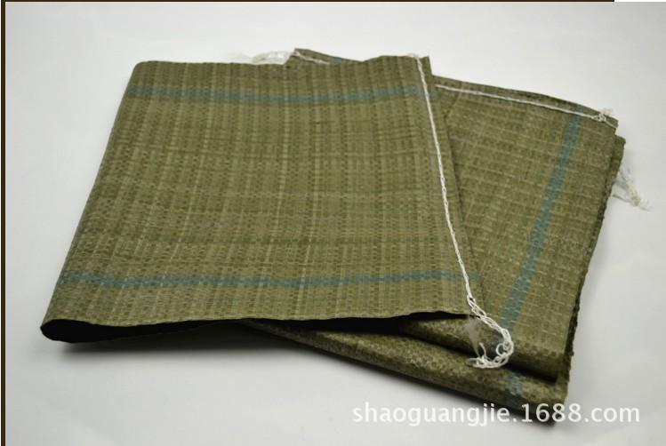 Bao dệt Túi dệt nhỏ bán buôn màu xám đặc biệt nhỏ da rắn túi dự án trang web đất cát xây dựng túi rá
